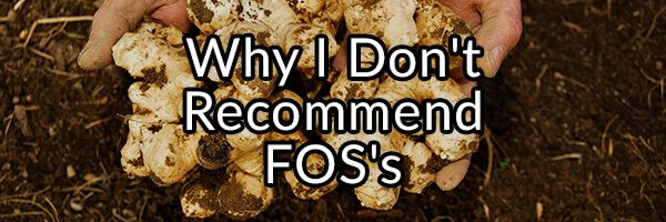 Why I Do Not Recommend the Use of Isolated FOS's (Inulin) in People with Dysbiosis