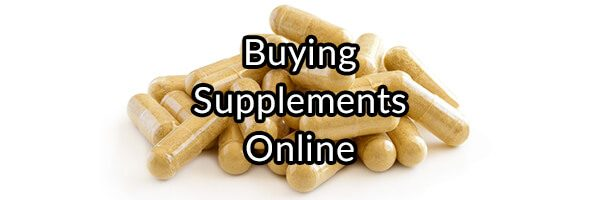 Buying Supplements Online